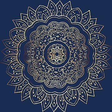 Gold Mandala by FayeLangoulant