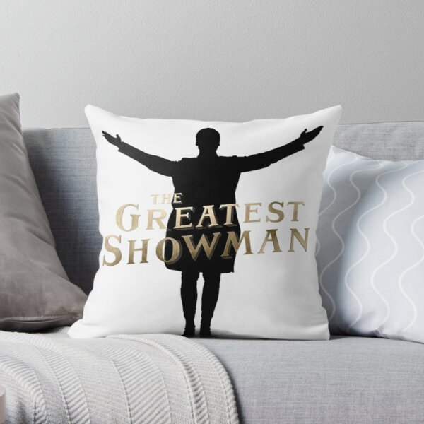 This Is The Greatest Show Throw Pillow