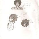 Bondye Sketches by BrokenBleedingAngel