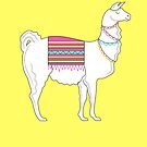 Llama ( Yellow Version )  by Adam Regester