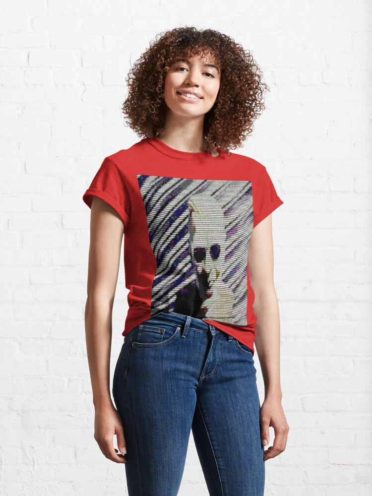 Alternate view of Max Headroom Broadcast Hack Classic T-Shirt