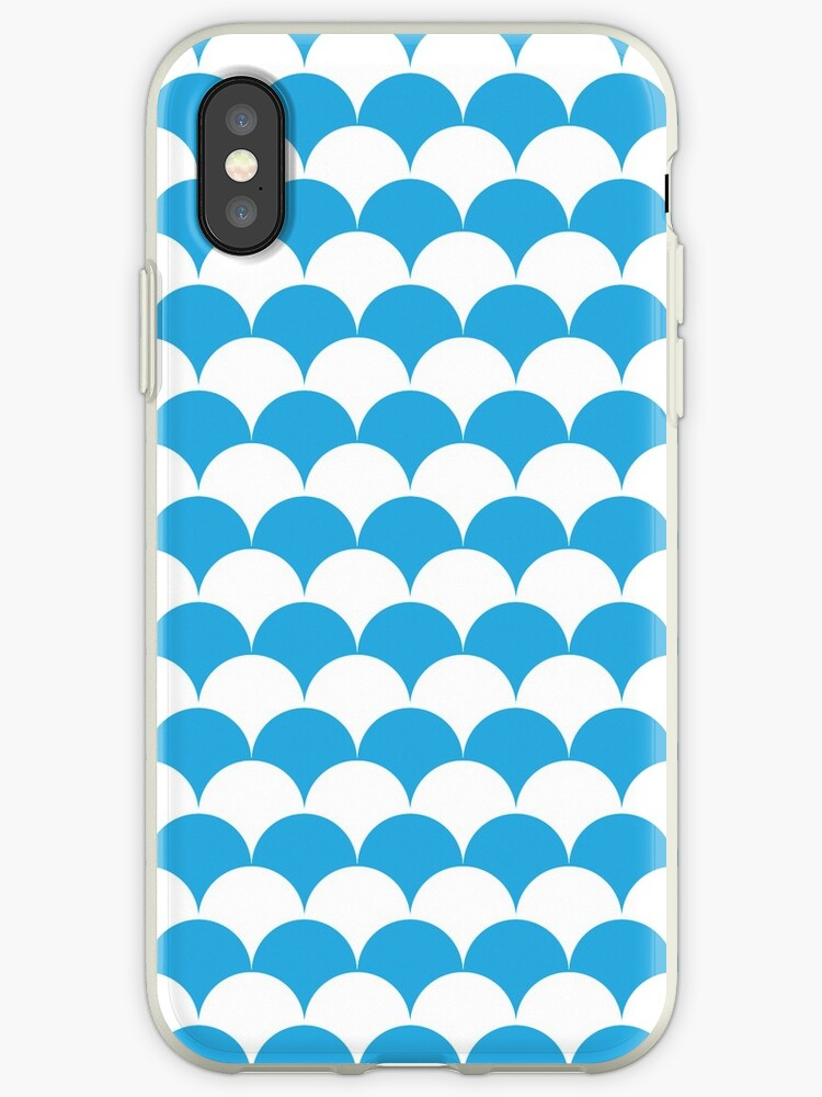 Blue Clamshell Pattern by Cool Fun  Awesome Time
