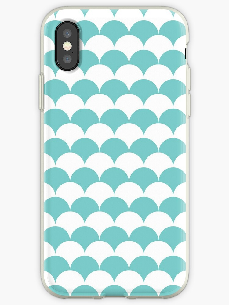 Aqua Clamshell Pattern by Cool Fun  Awesome Time