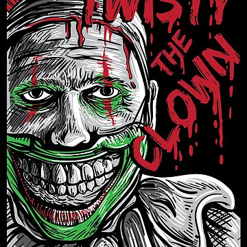 Twisty the clown American story horror Halloween by WWB2017
