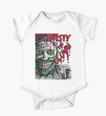 Body de manga corta para bebé Twisty el payaso American story horror Halloween