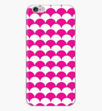 Pink Clamshell Pattern iPhone Case