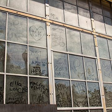 Window Art Work - San Francisco - California by Buckwhite