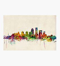 Louisville Kentucky City Skyline Fotodruck