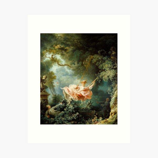 The Swing-Jean-Honore Fragonard Art Print