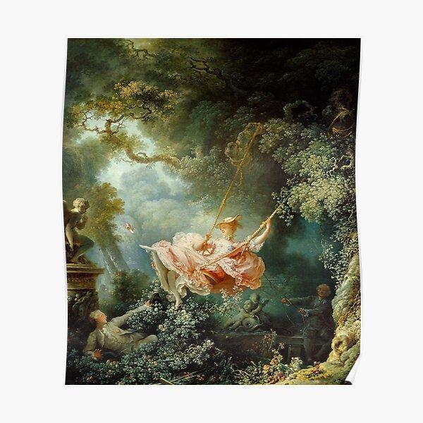 The Swing-Jean-Honore Fragonard Poster