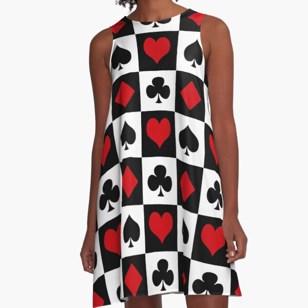 Playing card A-Line Dress