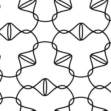 Simple geometric pattern 03 by MaijaR