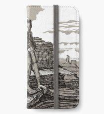 Peeling off the Mountain iPhone Wallet/Case/Skin