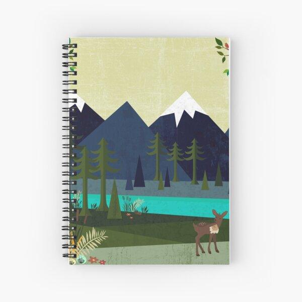 March Spiral Notebook