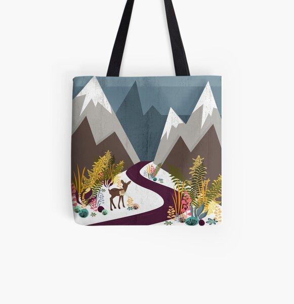 November Allover-Print Tote Bag