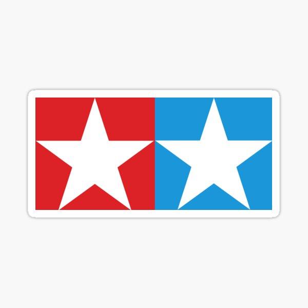 Twin Stars Enthusiast Decal Slap Sticker