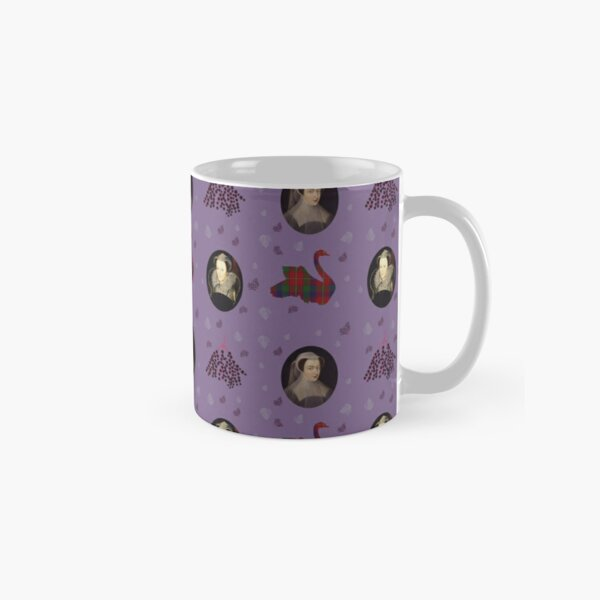 Mary Queen of Scots on purple Classic Mug