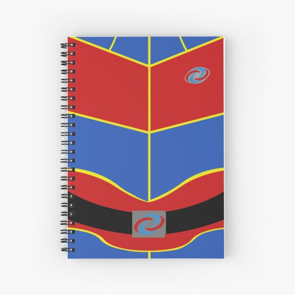 Captain Man Vest Spiral Notebook