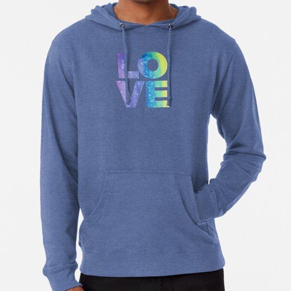 LOVE (Jewel Color Palette) Lightweight Hoodie