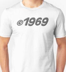Year of Birth 1969 Unisex T-Shirt