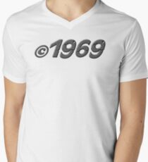 Year of Birth 1969 Men's V-Neck T-Shirt