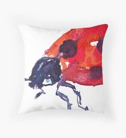 BAANTAL / Pollinate / Ladybird Throw Pillow
