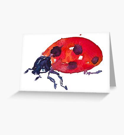 BAANTAL / Pollinate / Ladybird Greeting Card