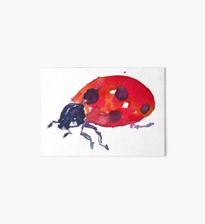 BAANTAL / Pollinate / Ladybird Art Board Print