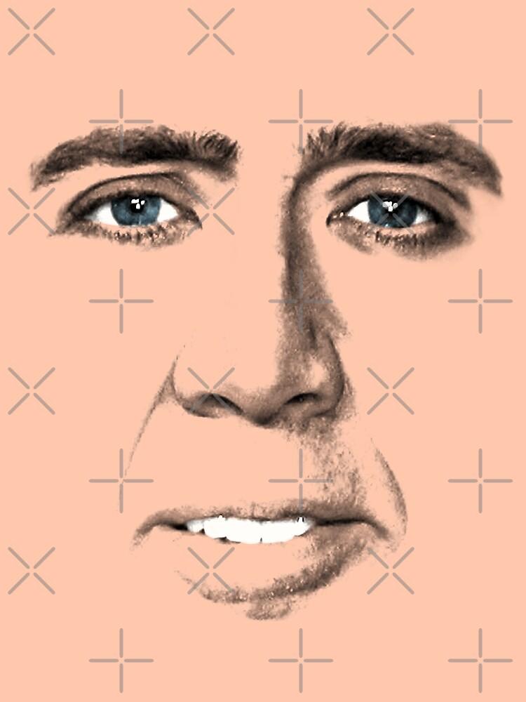 John Travolta Gesicht von audreyyun