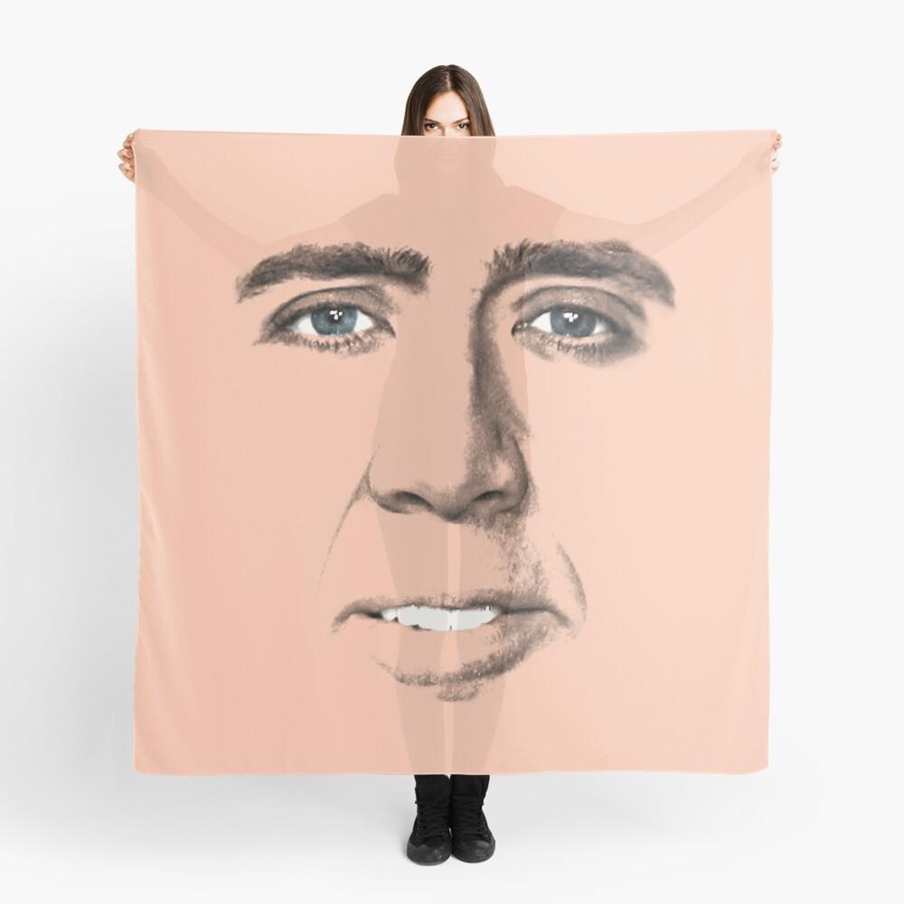 John Travolta Gesicht Tuch