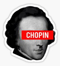 Classical Music - Chopin Sticker