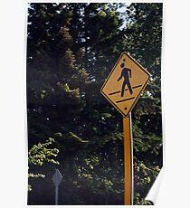 Crosswalk Poster