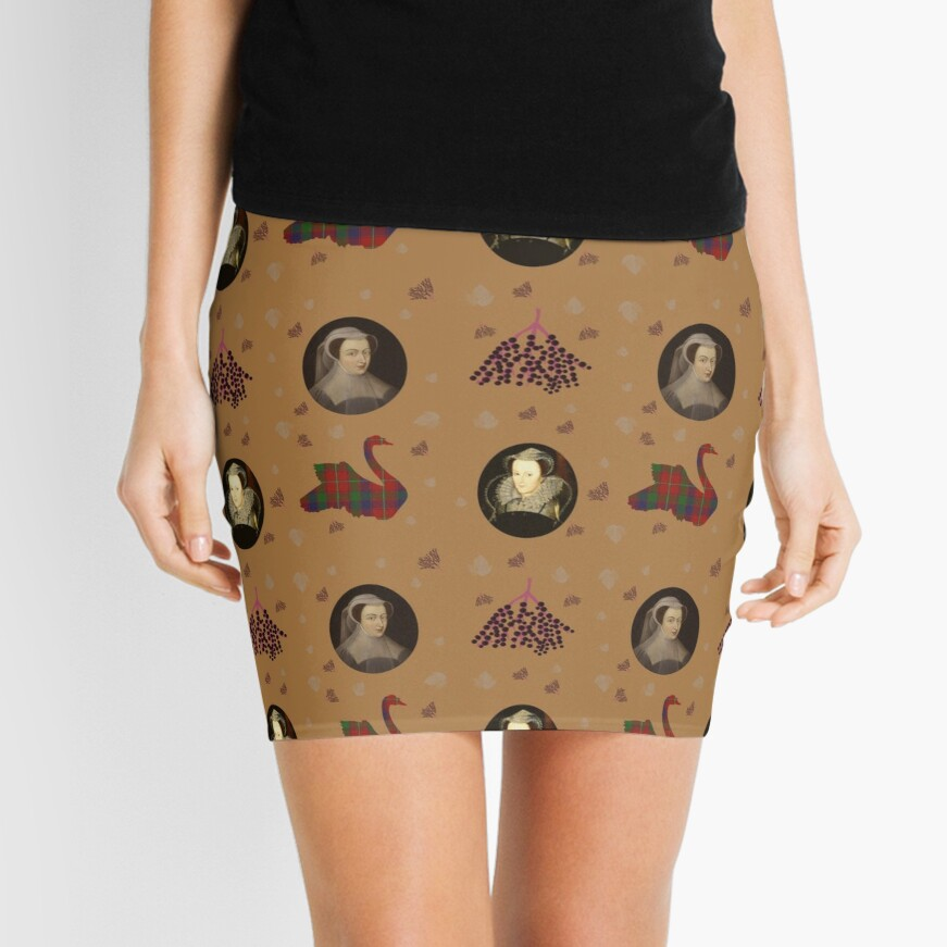 Mary Queen of Scots Mini Skirt