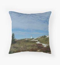 Due Odde, Bornholm, Denmark Throw Pillow
