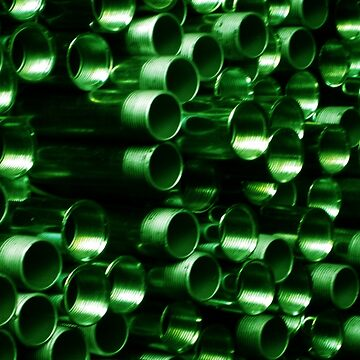 Green Pipe ~ pillow collection by DAdeSimone
