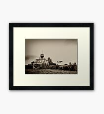 North Weald - The Squadron Framed Print