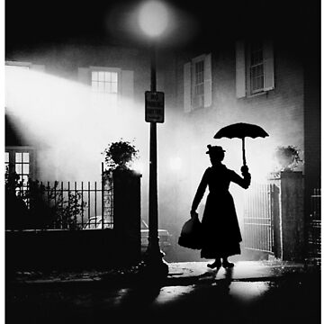 The Power of Poppins Compels You Black & White by Dr-Vits