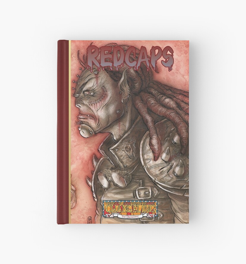 Dreaming Cover Art: Redcaps by TheOnyxPath
