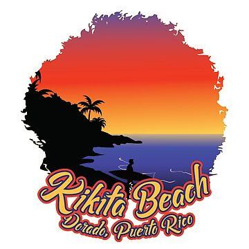 Kikita Surf Beach Puerto Rico Surfing Dorado by ShikitaMakes