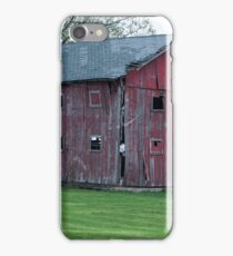 Red Barn - Marion, Indiana iPhone Case/Skin
