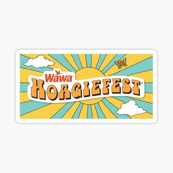 Wawa Hoagiefest Sticker