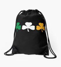 Ireland Shamrock Flag Drawstring Bag