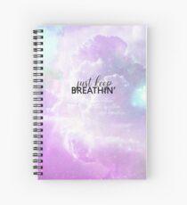 Cuaderno de espiral respirando