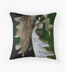 Back to Back Throw Pillow