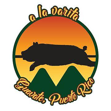Lechón Asado A La Varita - Chinchorreo en Guavate, Puerto Rico  by ShikitaMakes