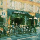 Cycling In France by Krista Droop
