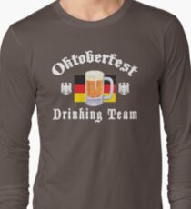 Oktoberfest Drinking Team Long Sleeve T-Shirt