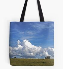 The Life of a Cow Tote Bag
