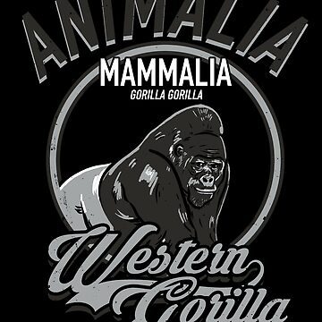 Western Gorilla by absolemstudio