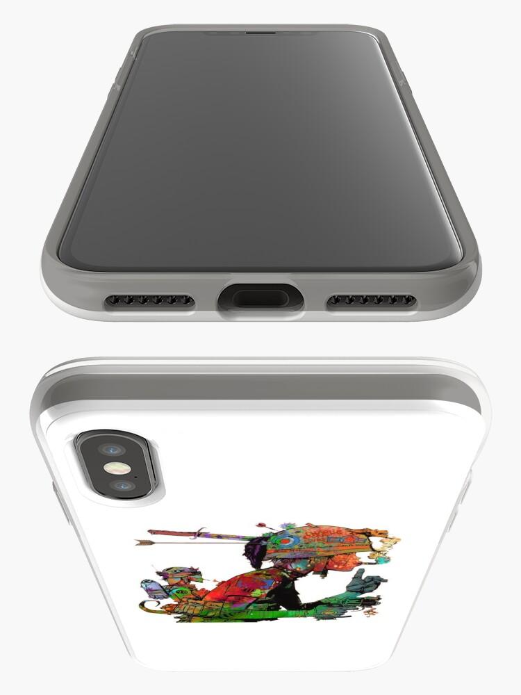 Alternative Ansicht von Abstraktes Tank-Mädchen iPhone-Hüllen & Cover